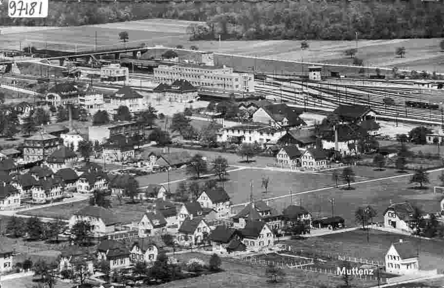 Alte Historische Fotos und Bilder Muttenz, Kanton Basel ...